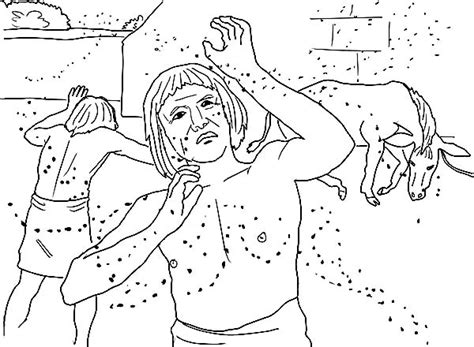 coloring pages 10 plagues egypt plagues of egypt clipart 62