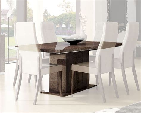 contemporary extension dining tables contemporary dining table w 17in extension leaf 33d502