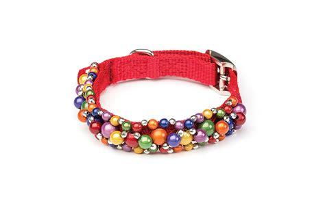 beaded collars fabuleash rainbow beaded collar petimpulse