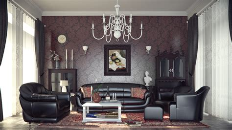 living room vintage country living room retro look