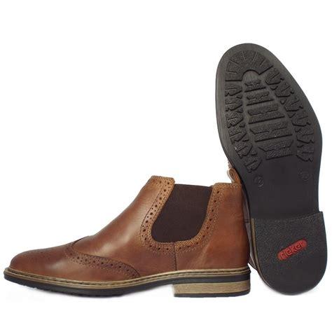 mens wide boots rieker 37681 25 s warm wide chelsea