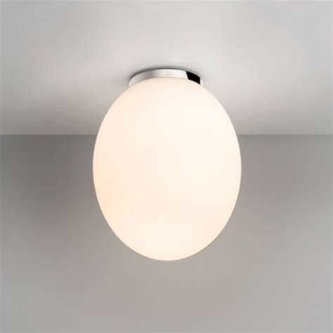 Astro Cortona Bathroom Glass Egg Shaped Ceiling Light 60w Shaped Ceiling Light