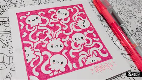 i sew cute and draw cute jellyfishes how to draw patterns for your doodles