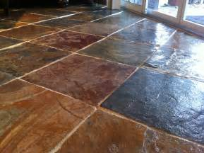 tips on sealing natural slate tile flooring