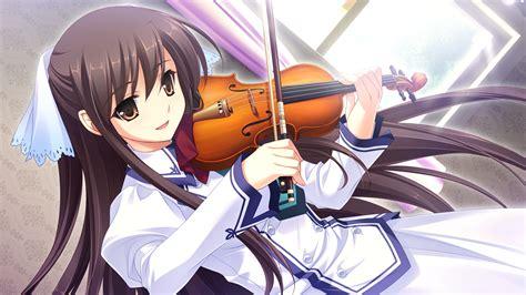 anime wallpaper violin anime girl playing viola viola pinterest anime