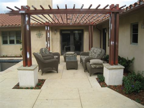 Concrete Patios San Antonio Tx by Project Complete Paver Patio Pergola And Sitting