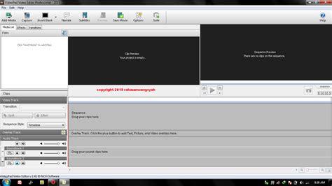 tutorial videopad indonesia aplikasi edit video terbaik dan paling ringan untuk pc