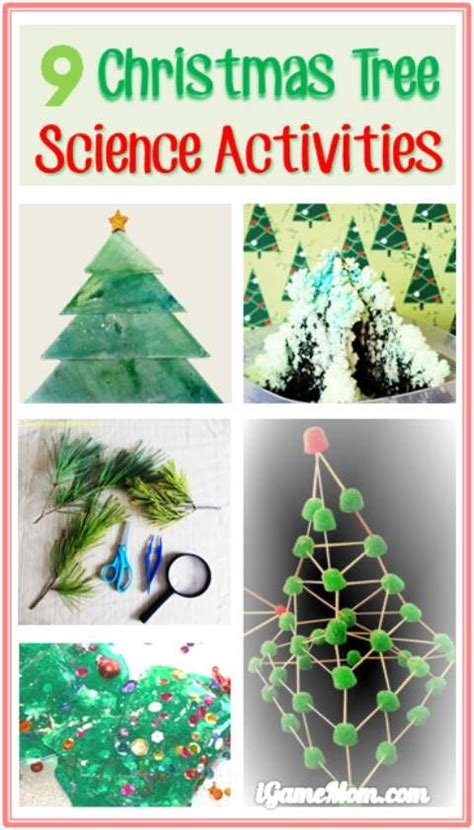 9 christmas tree science activities for kids