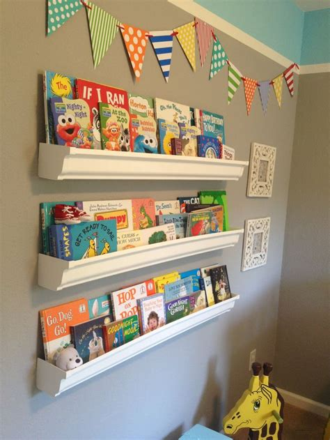 diy gutter bookshelves home sweet home