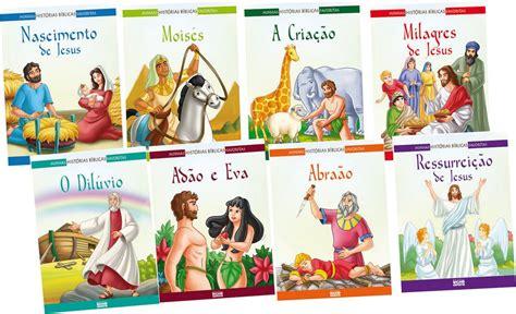 imagenes para historias biblicas kit com 8 livros as mais belas hist 243 rias da b 237 blia