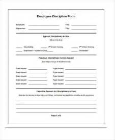 employee discipline form template free doc 600560 employee discipline form employees write up