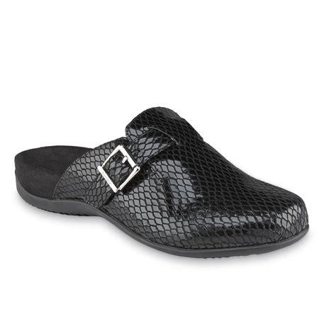 sole comfort calgary vionic women s calgary black casual mule comfort shoe