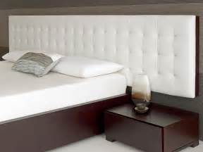 bed headboards baltazar walnut bed white headboard modern headboards other metro by living it up