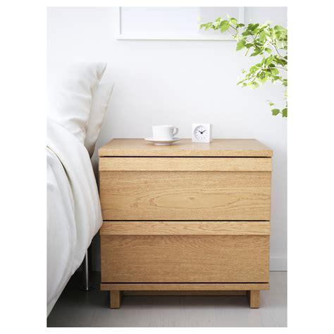 ikea oppland dresser oppland chest of 2 drawers oak veneer 60x57 cm ikea