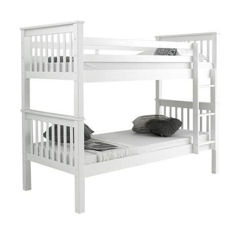 white wood loft bed white wood bunk beds with mattresses wooden bunk bed childrens white 3ft single rosa