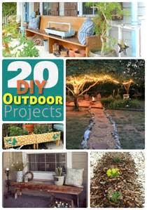 yard projects great ideas 20 outdoor diy projects