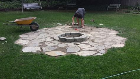 how to build a backyard patio how to build backyard fire pit outdoor goods