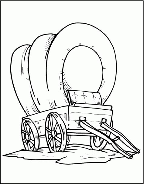 Wagon Coloring Pages wagon coloring pages coloring home