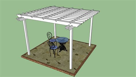 how to construct a pergola how to build a pergola on a patio howtospecialist how