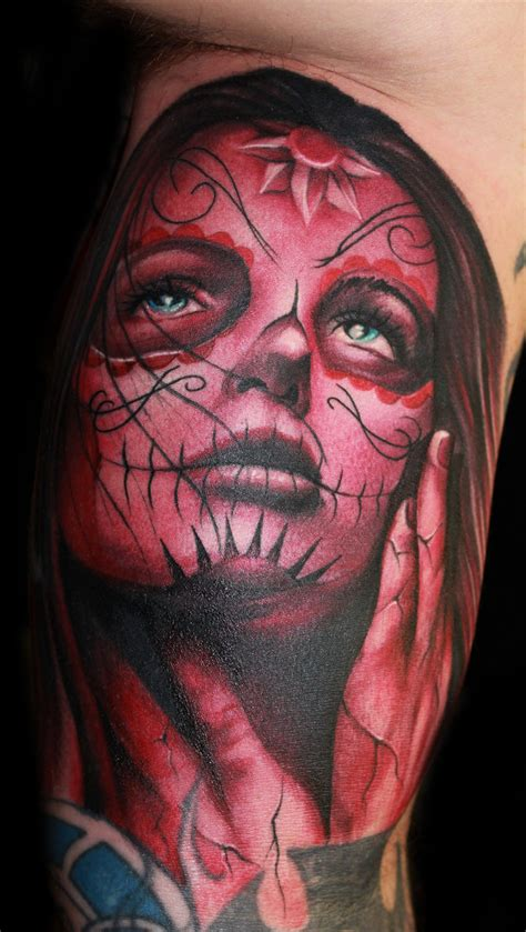 day of the dead woman tattoo designs day of the dead tattoos designs ideas and meaning