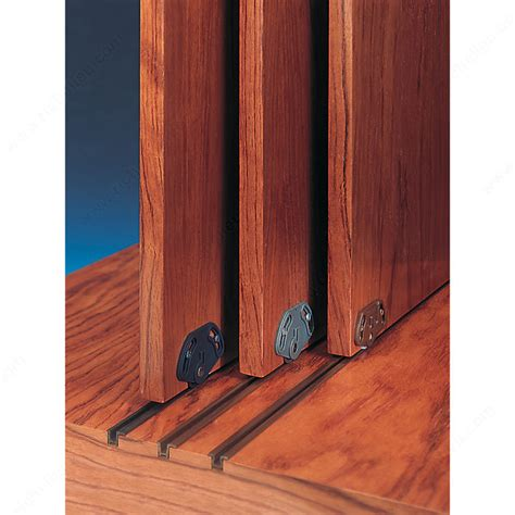 sliding tracks for cabinets brown pvc track richelieu hardware