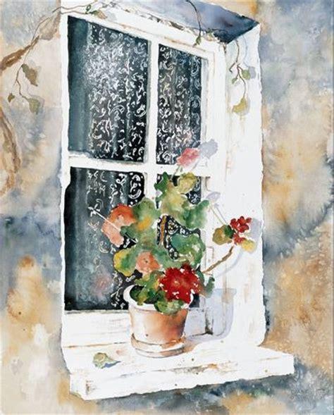 Fenster Bemalen Mit Wasserfarbe by Diane