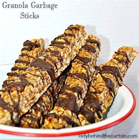 Cereal Stick granola garbage sticks