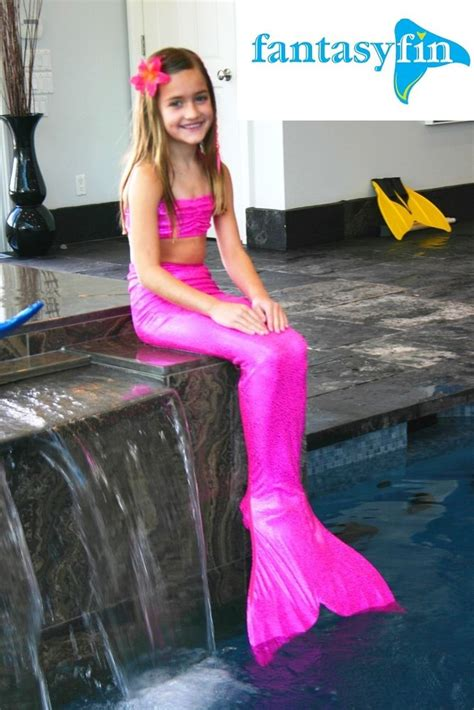 kids mermaids tails girls free bikini top 1 fantasy fin swimmable mermaid tail