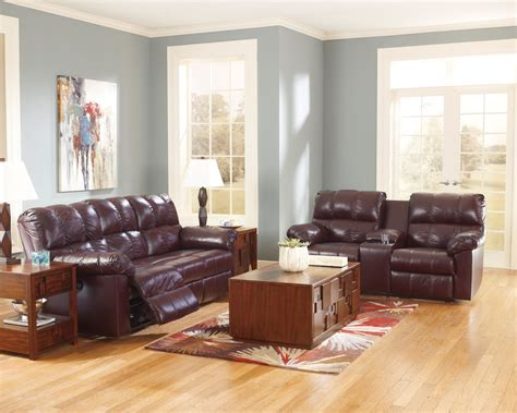 burgundy living room furniture kennard burgundy living room set