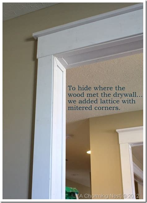 What Is A Doorway Without A Door Called by Remodelaholic Best Diy Door Tips Installation Framing And Hardware