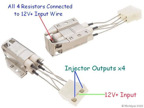 gtr resistor pack wiring injector resistor 28 images fuel injector impedance and resistor box basics wrenchin honda