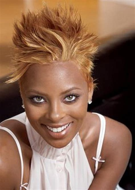 black women with short blonde mohawks black mohawk hairstyles for women