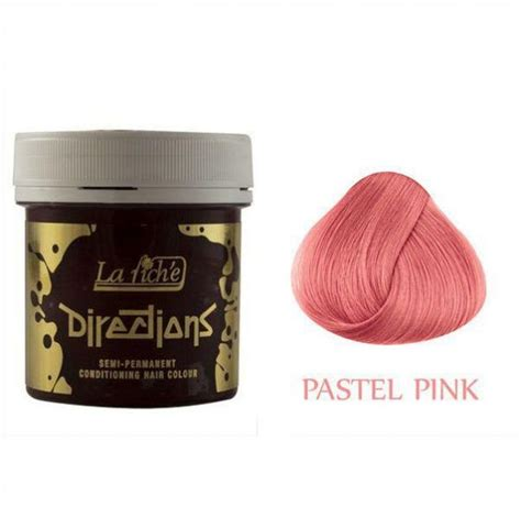 la riche directions semi permanent hair colour pastel pink la riche directions semi permanent hair dye pastel pink