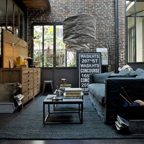 industrial bedrooms interior design home design 30 stylish and inspiring industrial living room designs
