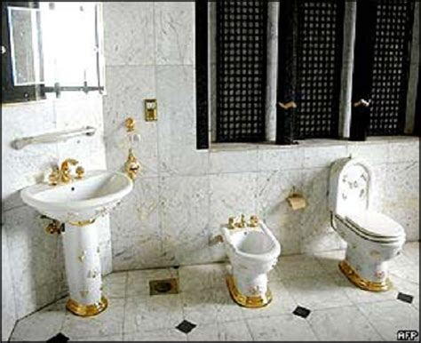 Saddam Hussein Bathroom by The Sassy Countess Historic Estates And Grand Lifestyles