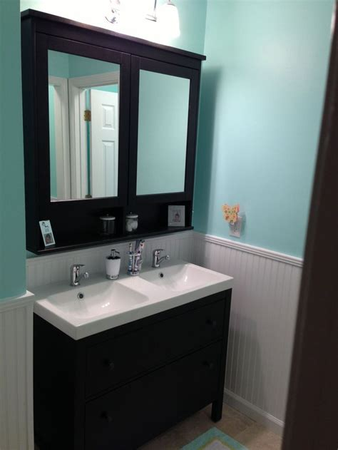 ikea double vanity 25 best ideas about small double vanity on pinterest