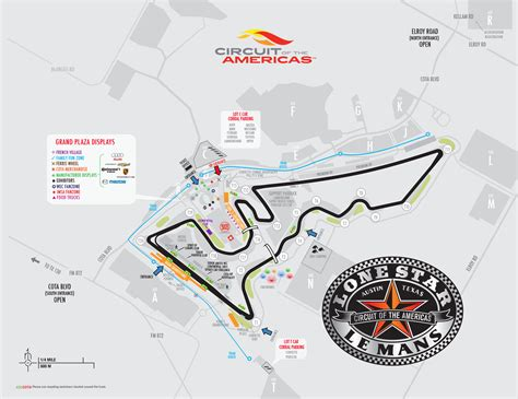 circuit of the americas map maps 2015 lone le mans circuit of the americas