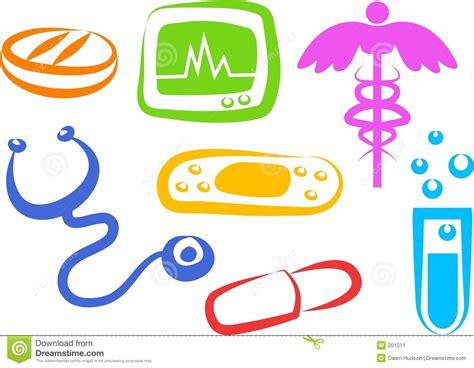 imagenes motivacionales de salud iconos de la salud imagen de archivo imagen 201011