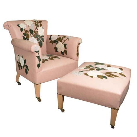 armchair pink powder pink armchair with rose susannah hunter