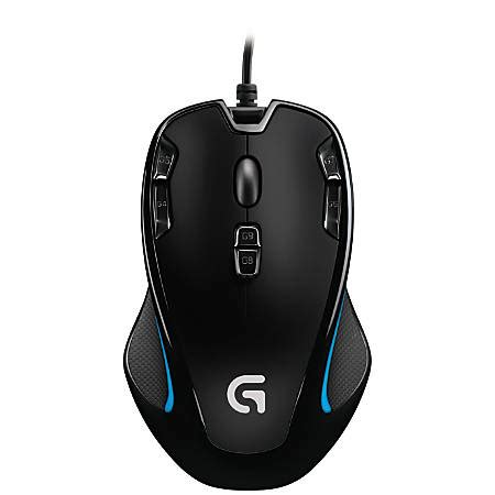 Jual Mouse Gaming Logitech G300s by Logitech G300s Optical Gaming Mouse Black By Office Depot