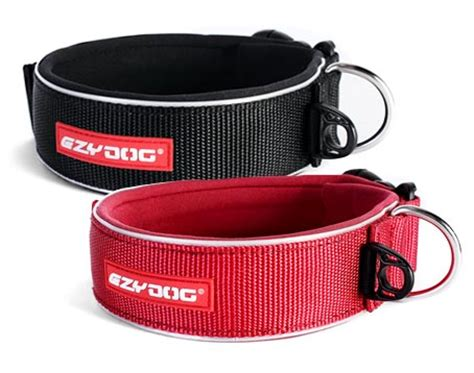 wide collars ezydog wide large collars for big dogs