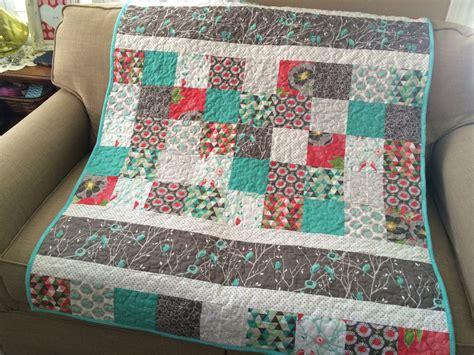 Cottage Quilting by Birdies For Baby Cottage Garden Baby Quilt Pattern