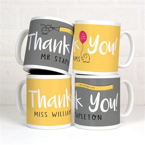 personalised thankyou gift mug meenymineymo