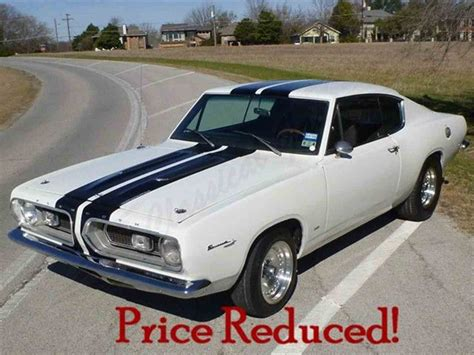 classic plymouth for sale 1967 plymouth barracuda for sale classiccars cc 809860