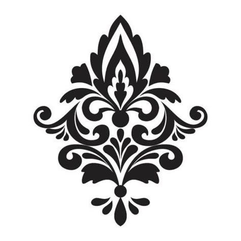 Fleur De Lis Decor by Damask Stencil Printable Template Invitation Templates