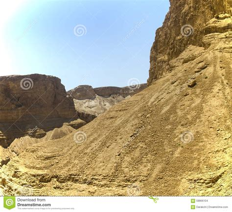 To Do Time In The Desert by Mountains In Israel Desert Stock Photo Image 58866104
