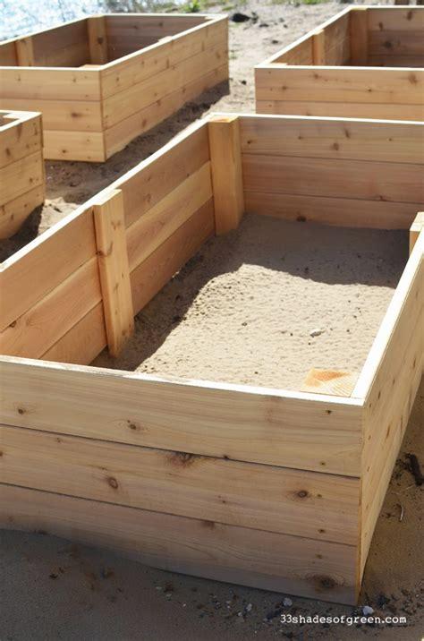 easy raised garden bed 33 shades of green easy diy raised garden bed tutorial
