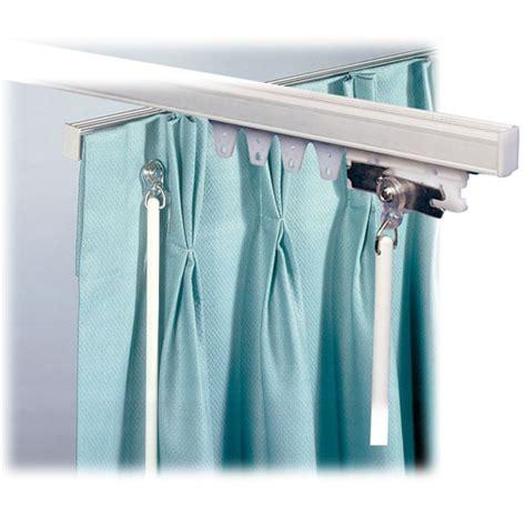 hotel drapery rods architrac baton draw ceiling mount drapery track lodgmate