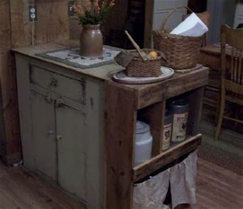 Primitive Kitchen Islands 17 Best Images About Primitive Kitchen On David Smith Stove And Homesteads