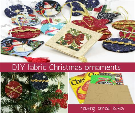 colorway cartonnage fabric ornaments